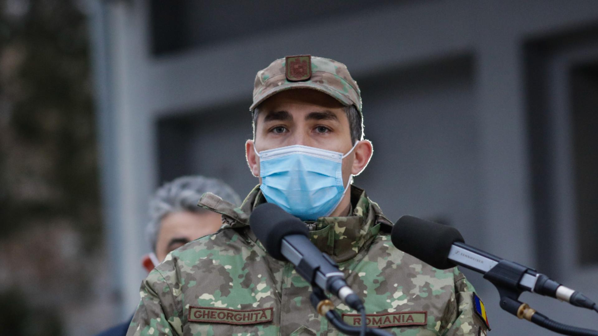 Valeriu Gheorghiță, președintele Comitetului Naţional de conducere a campaniei de vaccinare împotriva COVID-19