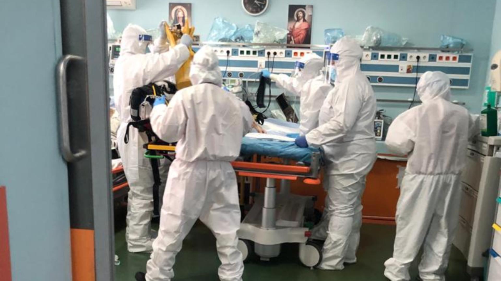 Imagini de coșmar din secțiile de Terapie Intensivă, surprinse în această dimineață