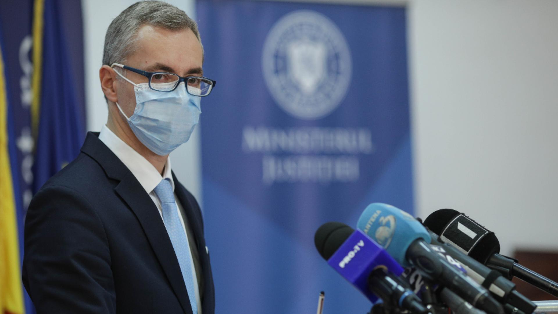 Stelian Ion - ministrul Justiției