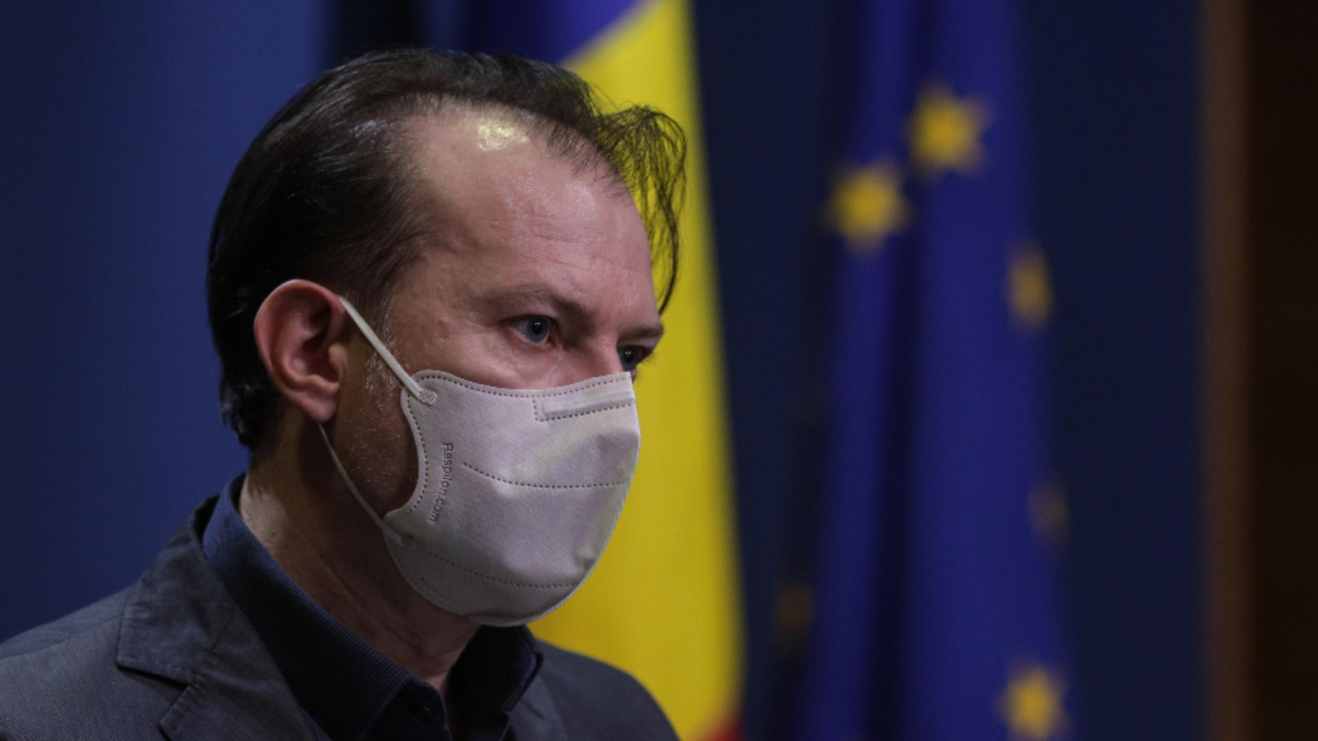 Florin Cîțu, premierul demis al României Foto: INQUAM