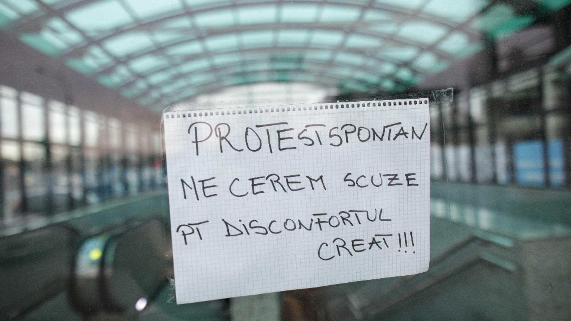 Protest metrou