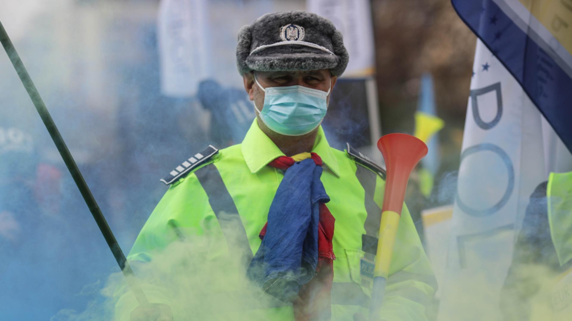 Protest polițiști / Foto: Inquam Photos