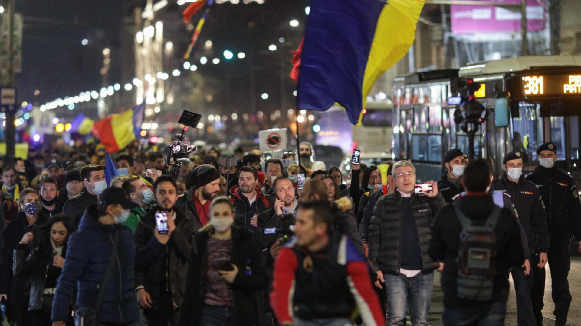 Protest Capitală / INQUAM - Octav Ganea