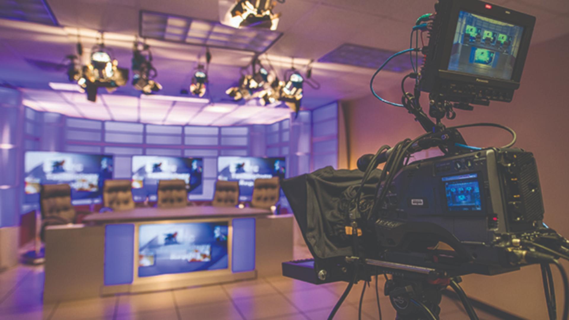 producție TV Foto ilustrativ