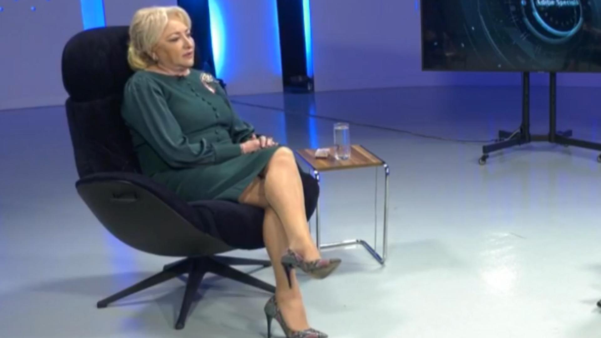 Viorica Dăncilă (foto: captura video A7TV)