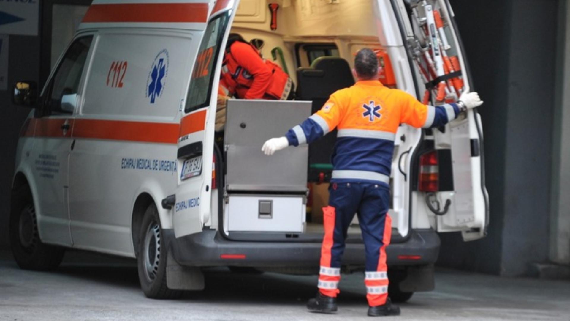 Intervenție ambulanță