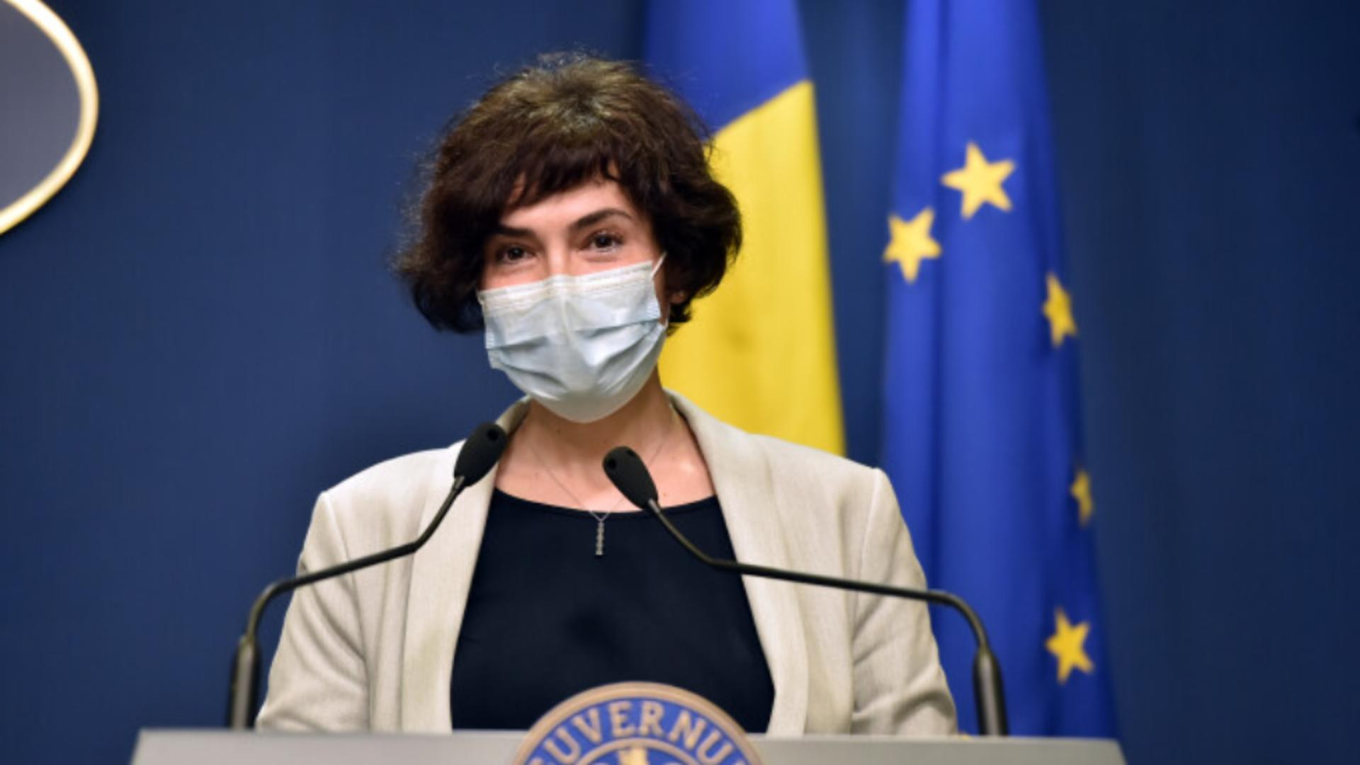 Andreea Moldovan, secretar de stat Ministerul Sănătății