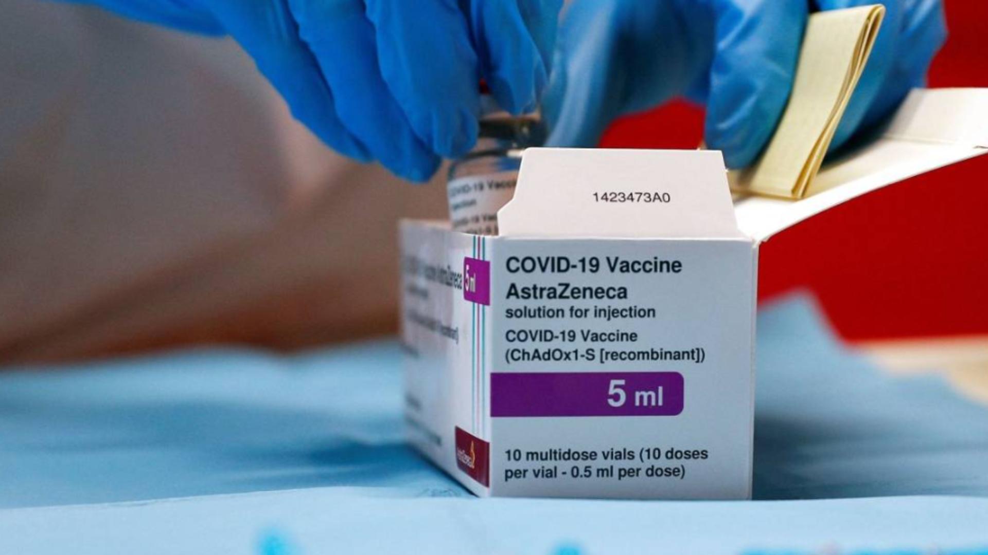 Vaccinul anti-COVID-19 AstraZeneca, redenumit în Vaxzevria