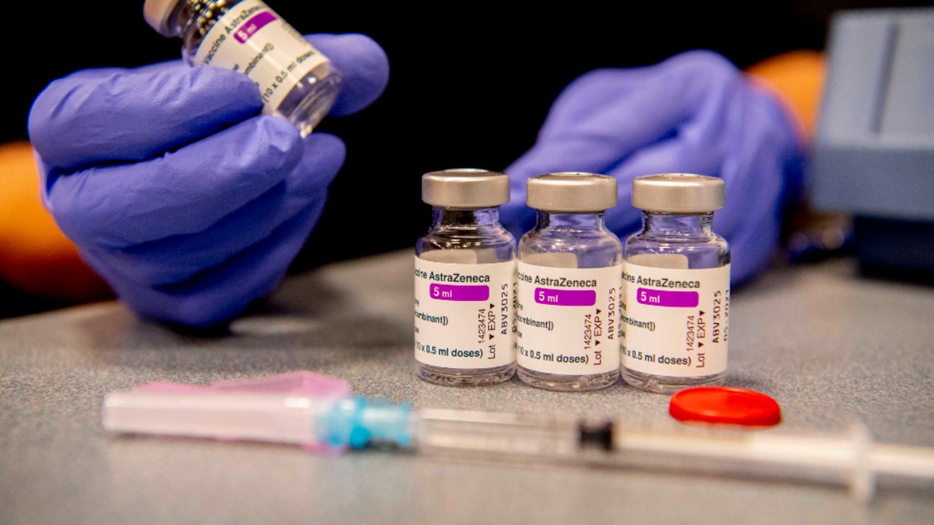 Vaccinare cu AstraZeneca in Republica Moldova