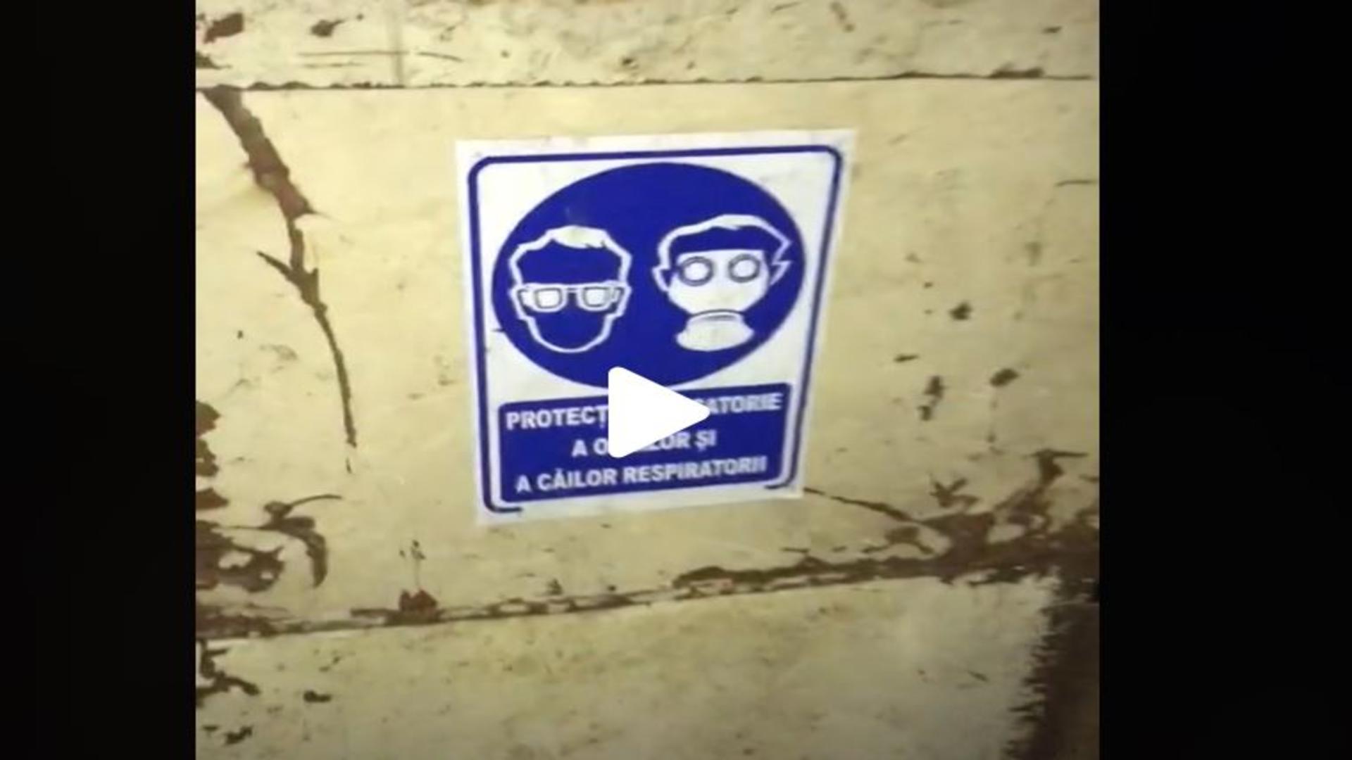 Imagini dintr-un buncăr din București