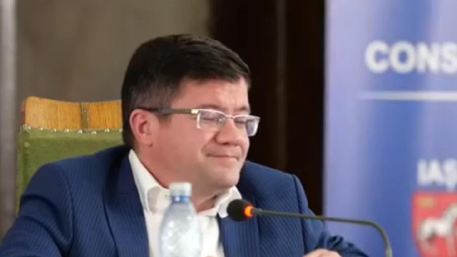 Costel Alexe, președinte CJ Iași