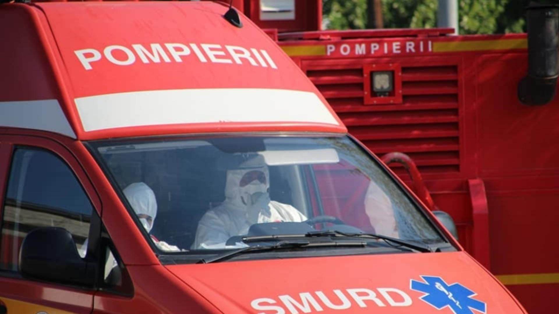 Intervenție SMURD explozie Aiud