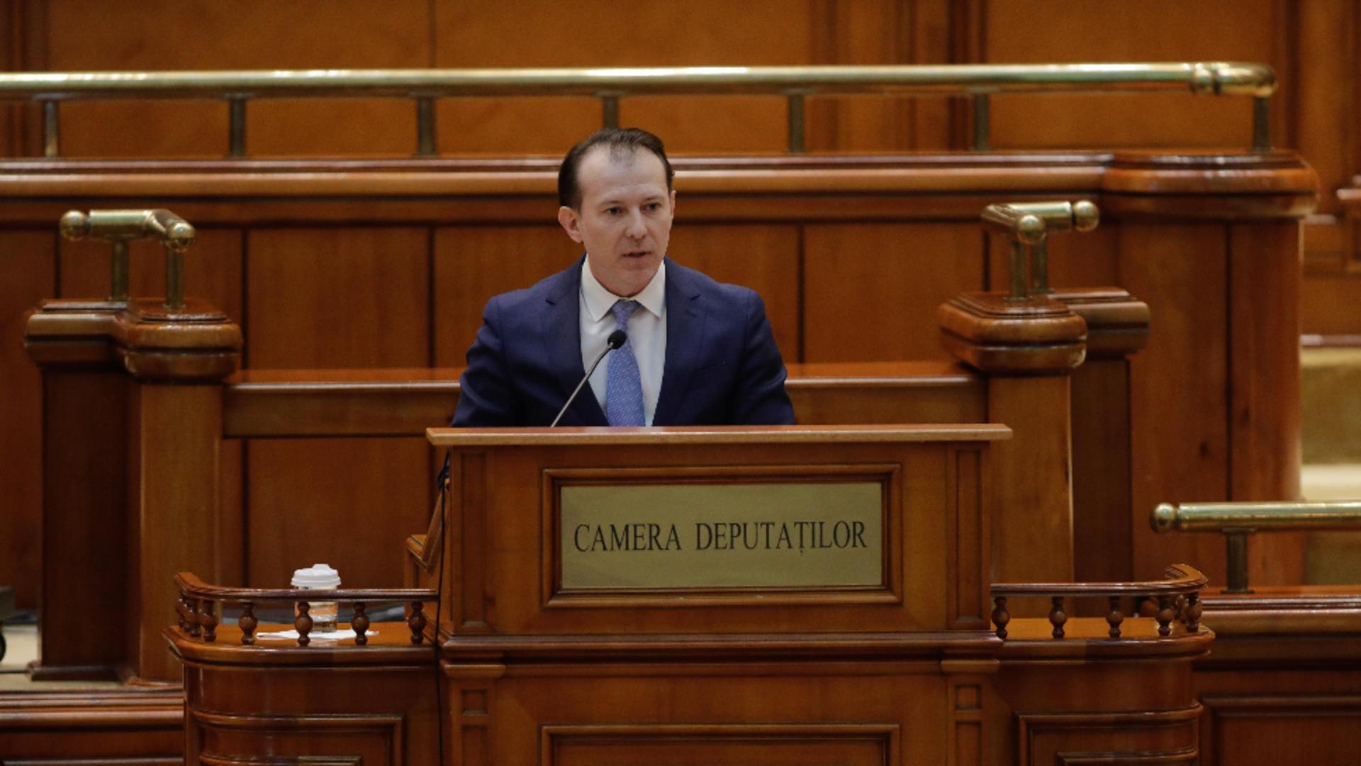 Premierul României - Florin Cîțu / Inquam Photos - George Călin