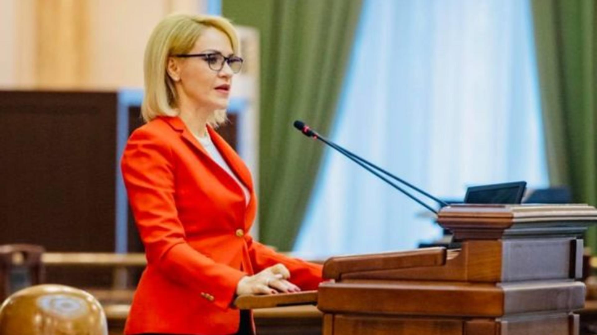 Gabriela Firea, senator PSD
