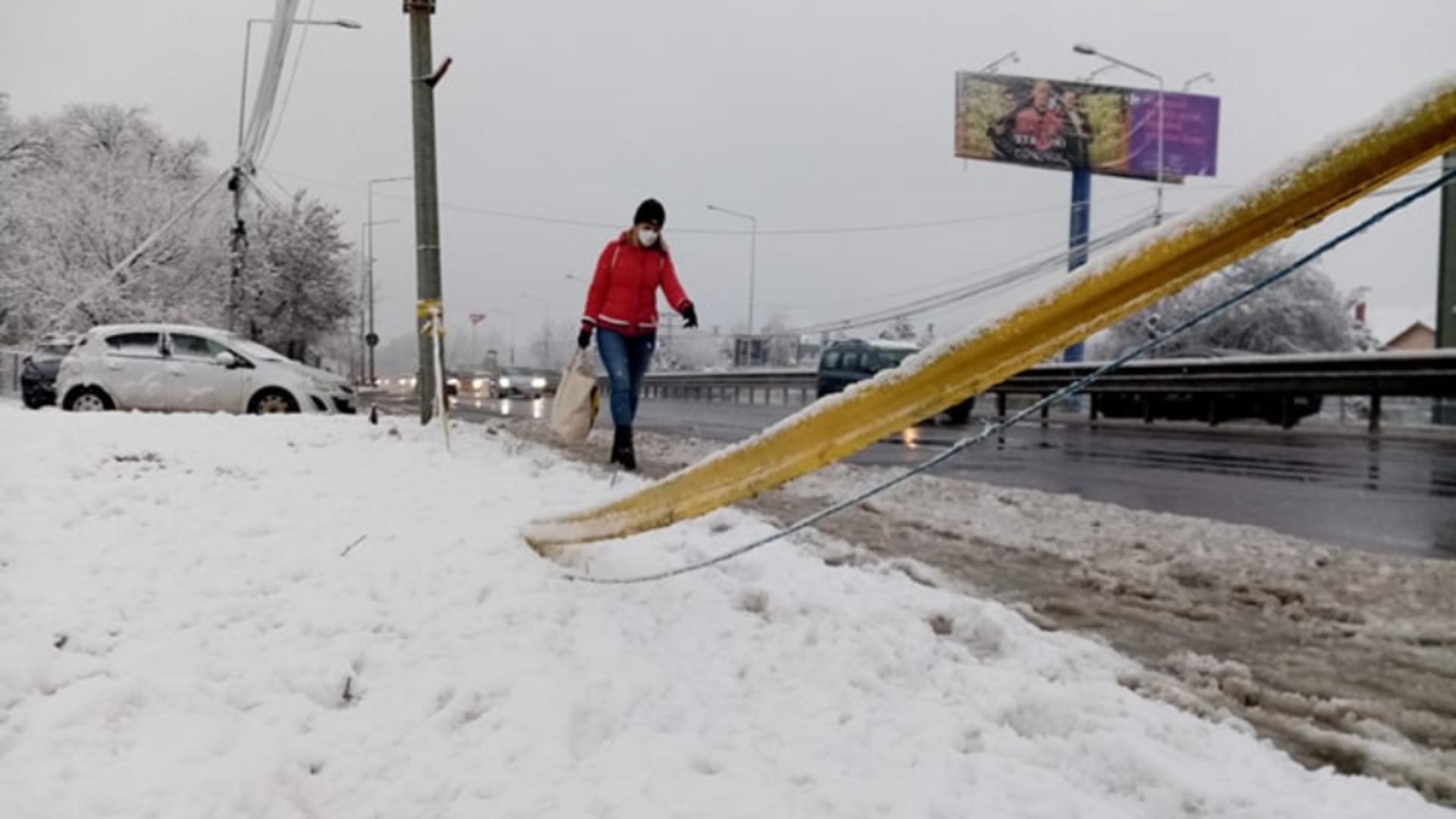Vreme de iarnă la mijlocul lunii martie