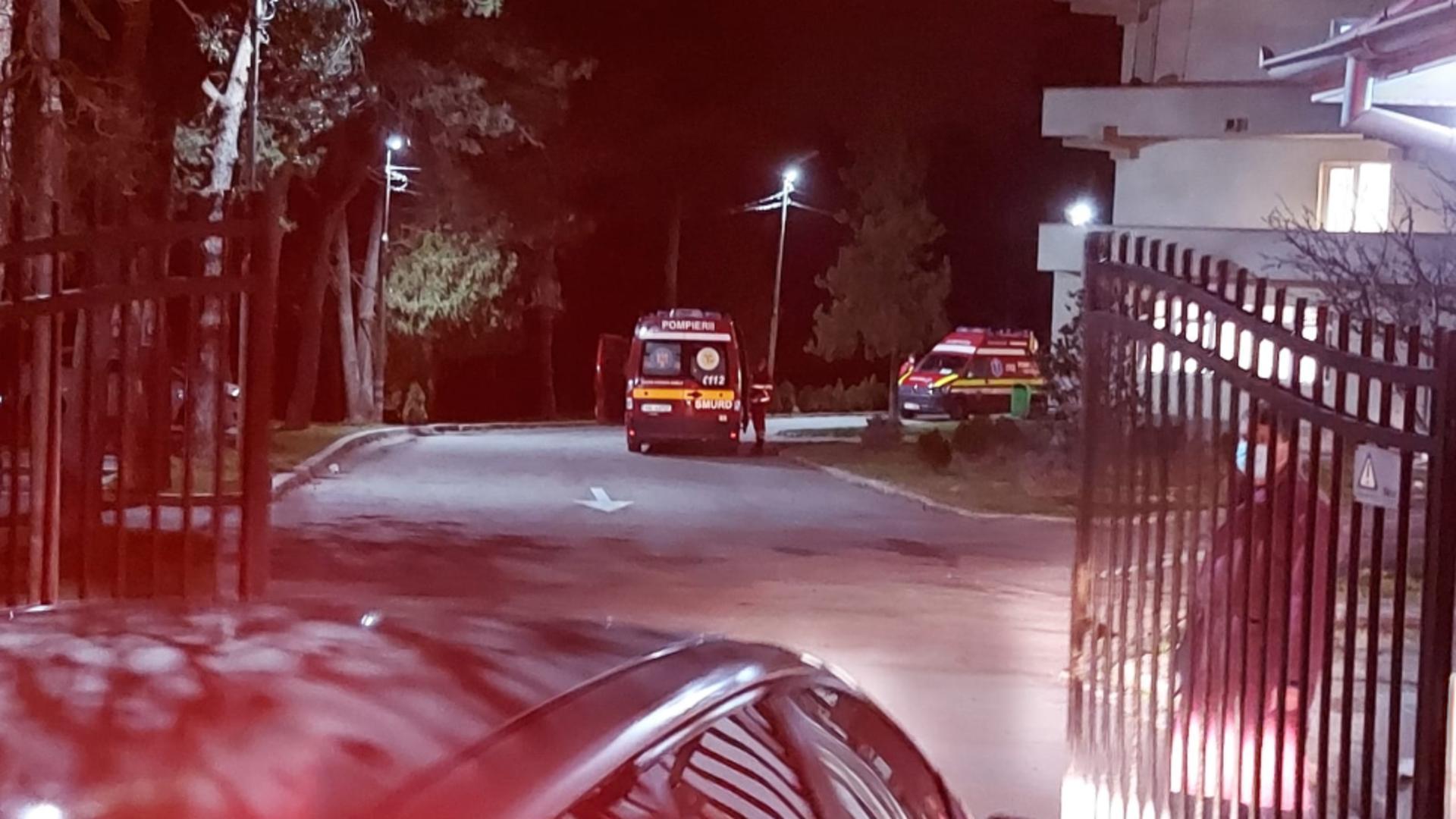Incendiu la Spitalul de Psihiatrie Craiova (sursă: Gazeta de Sud)