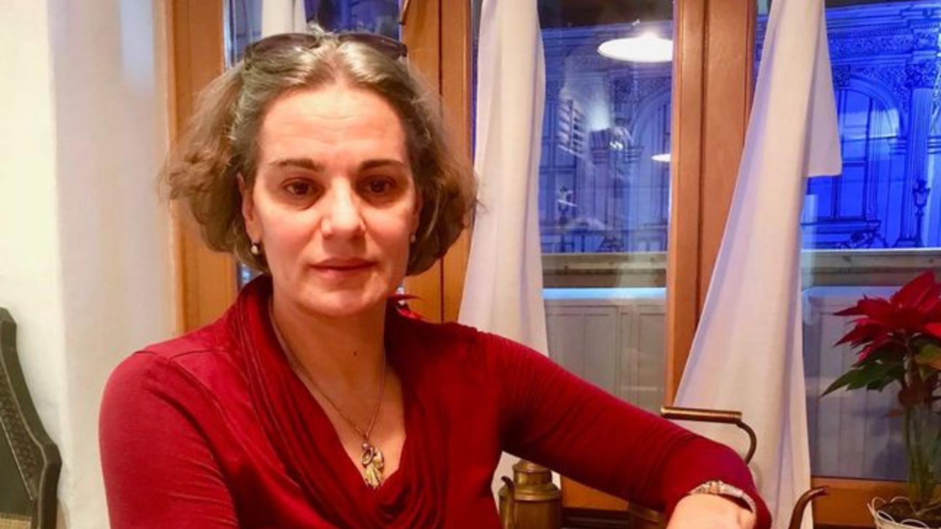 Actrita Maia Morgenstern, directorul Teatrului Evreiesc de Stat