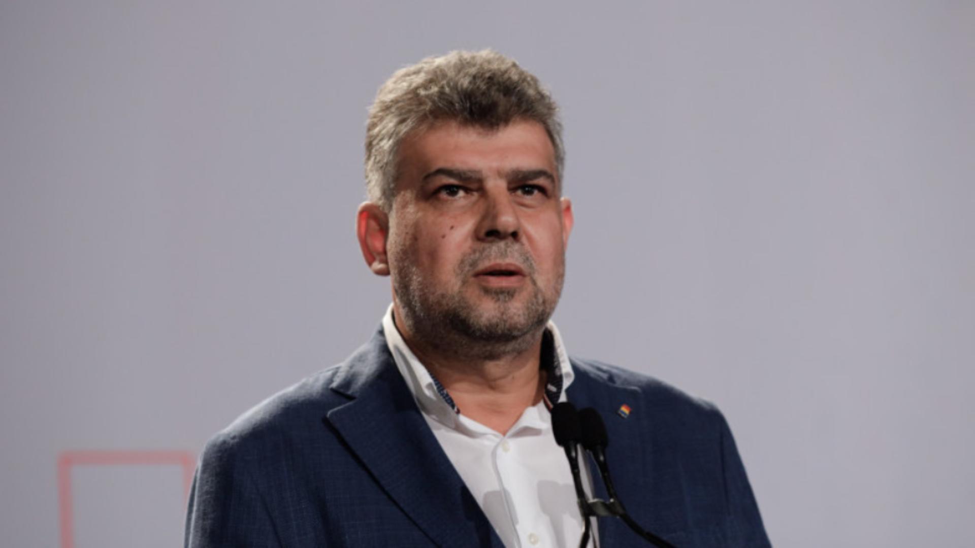 Marcel Ciolacu, președintele PSD