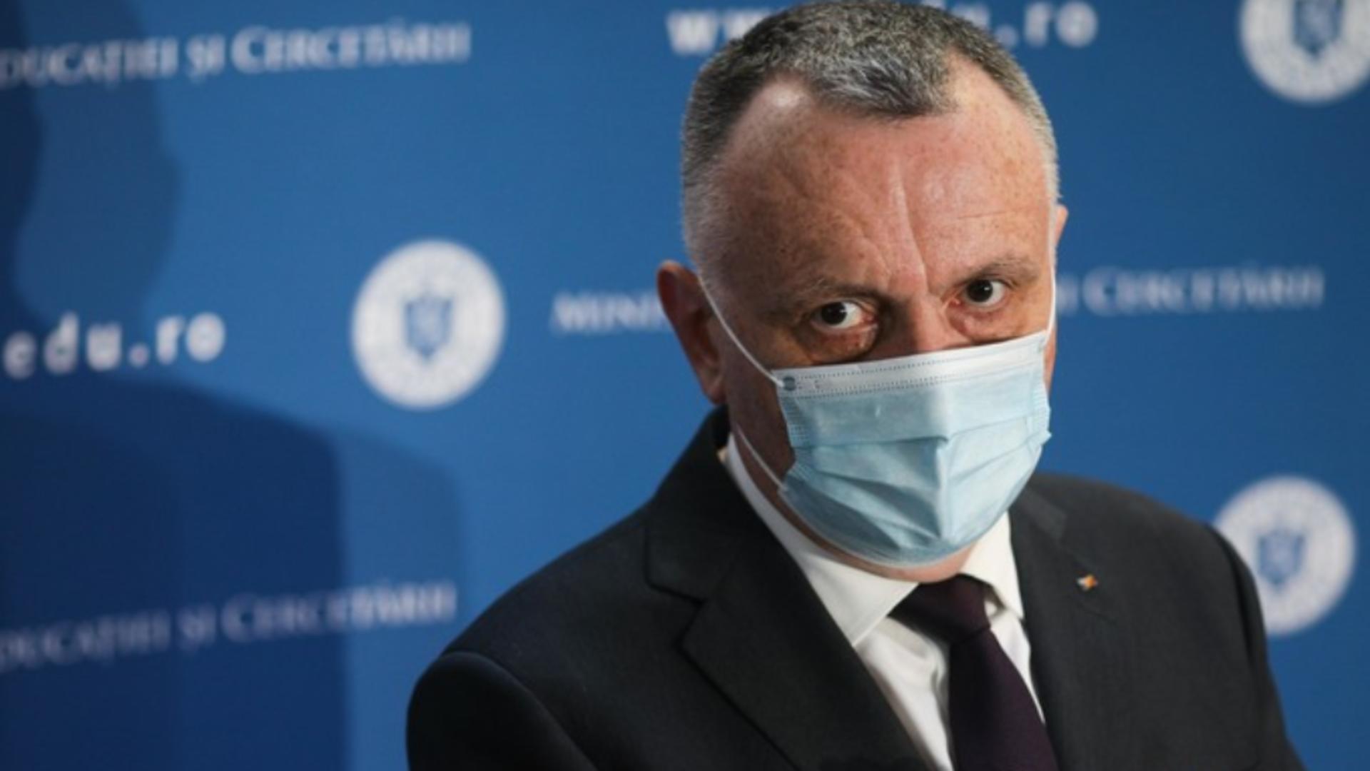 Sorin Cîmpeanu, ministrul Educației Foto: InquamPhotos/Octav Ganea