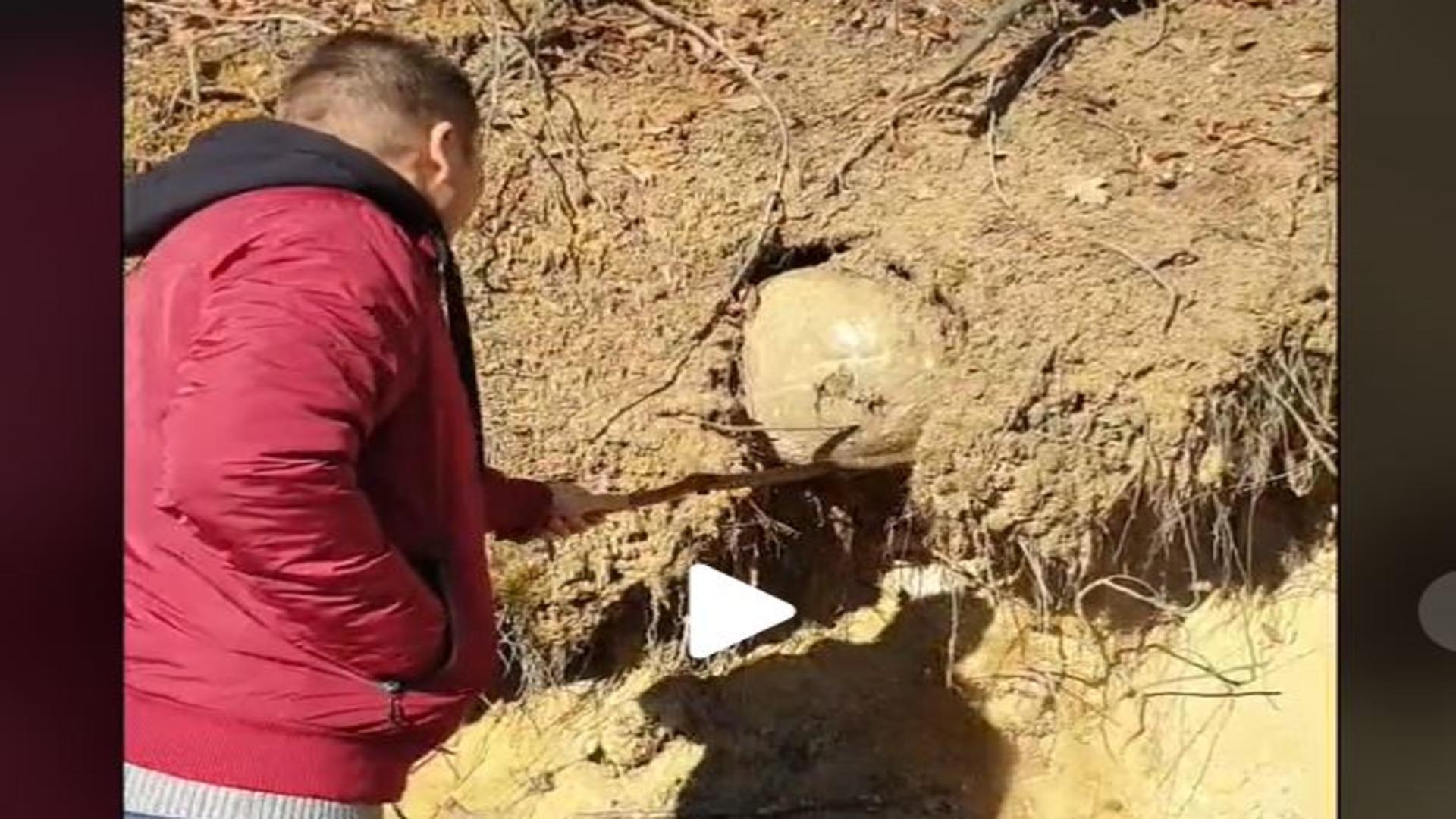 Sferă îngropată