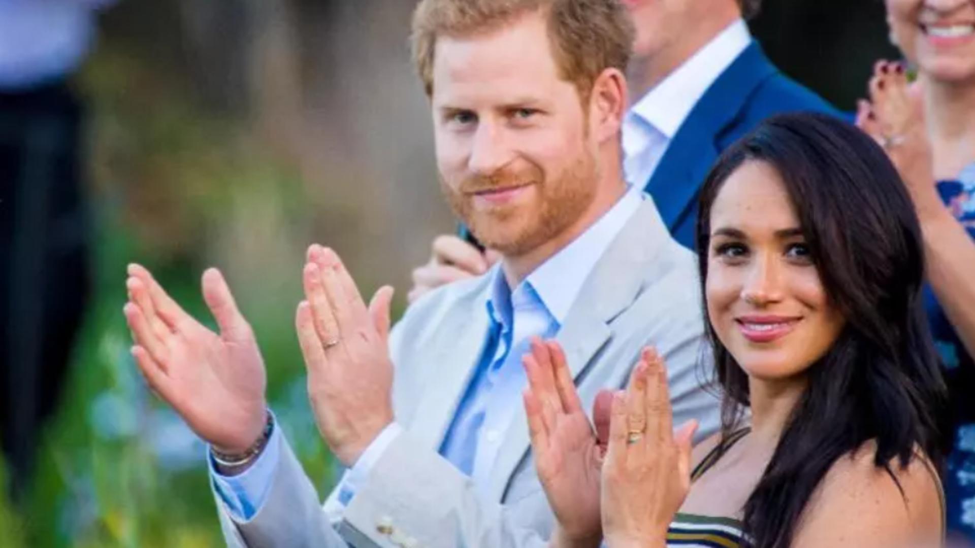 Meghan Markle și prințul Harry Foto: Profi Media