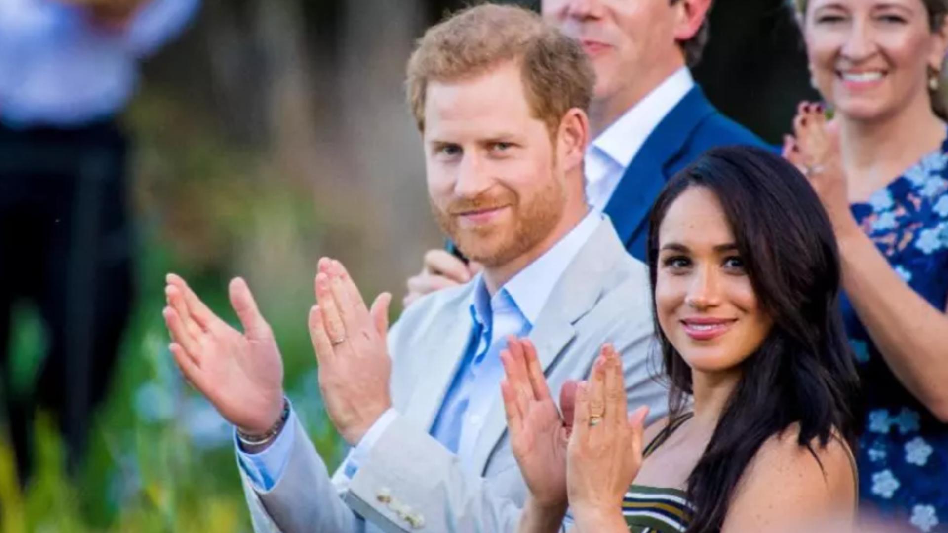Prințul Harry și Meghan Markle. Foto: Profi Media
