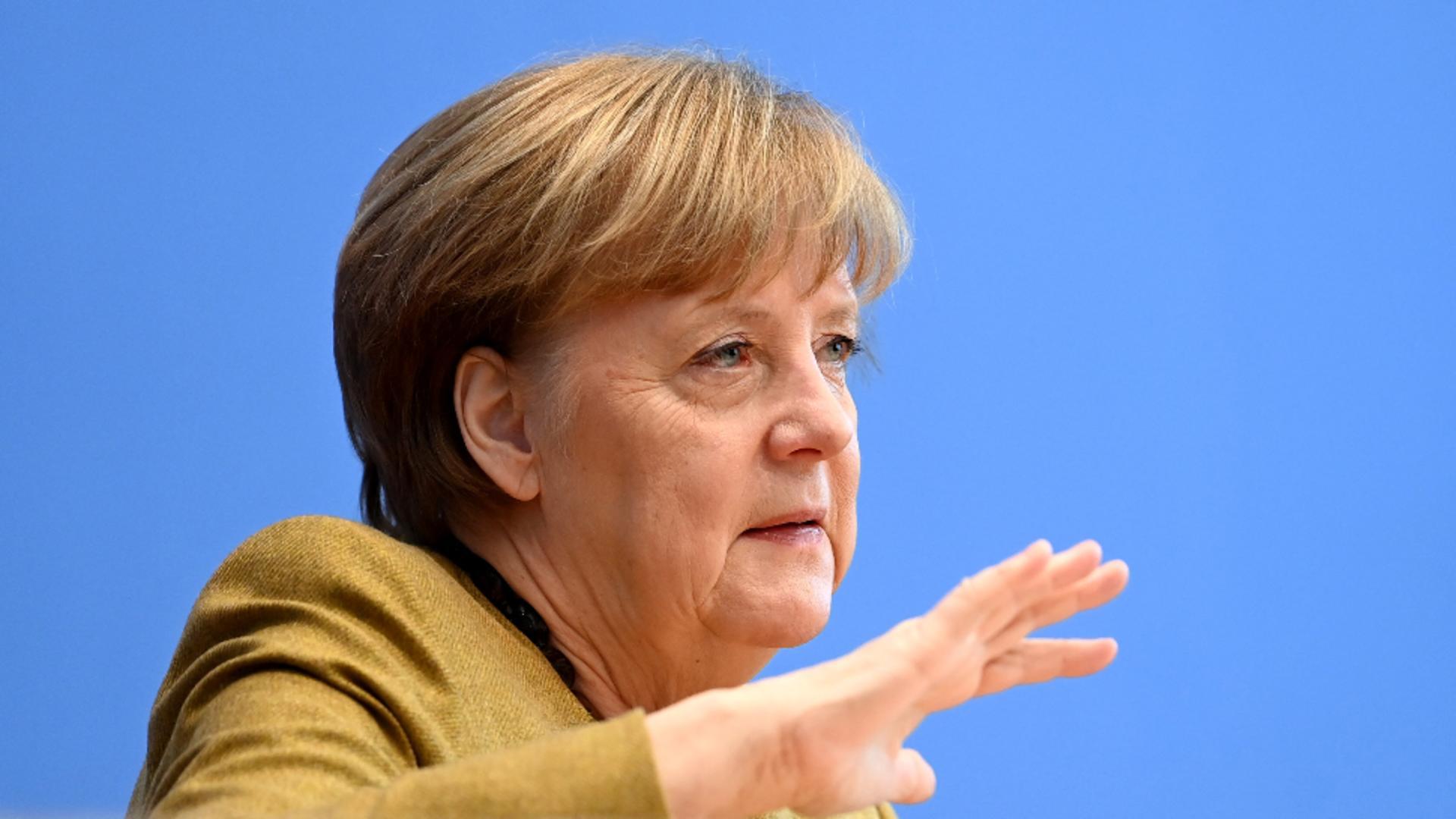 Cancelarul Angela Merkel / Foto: Profi Media