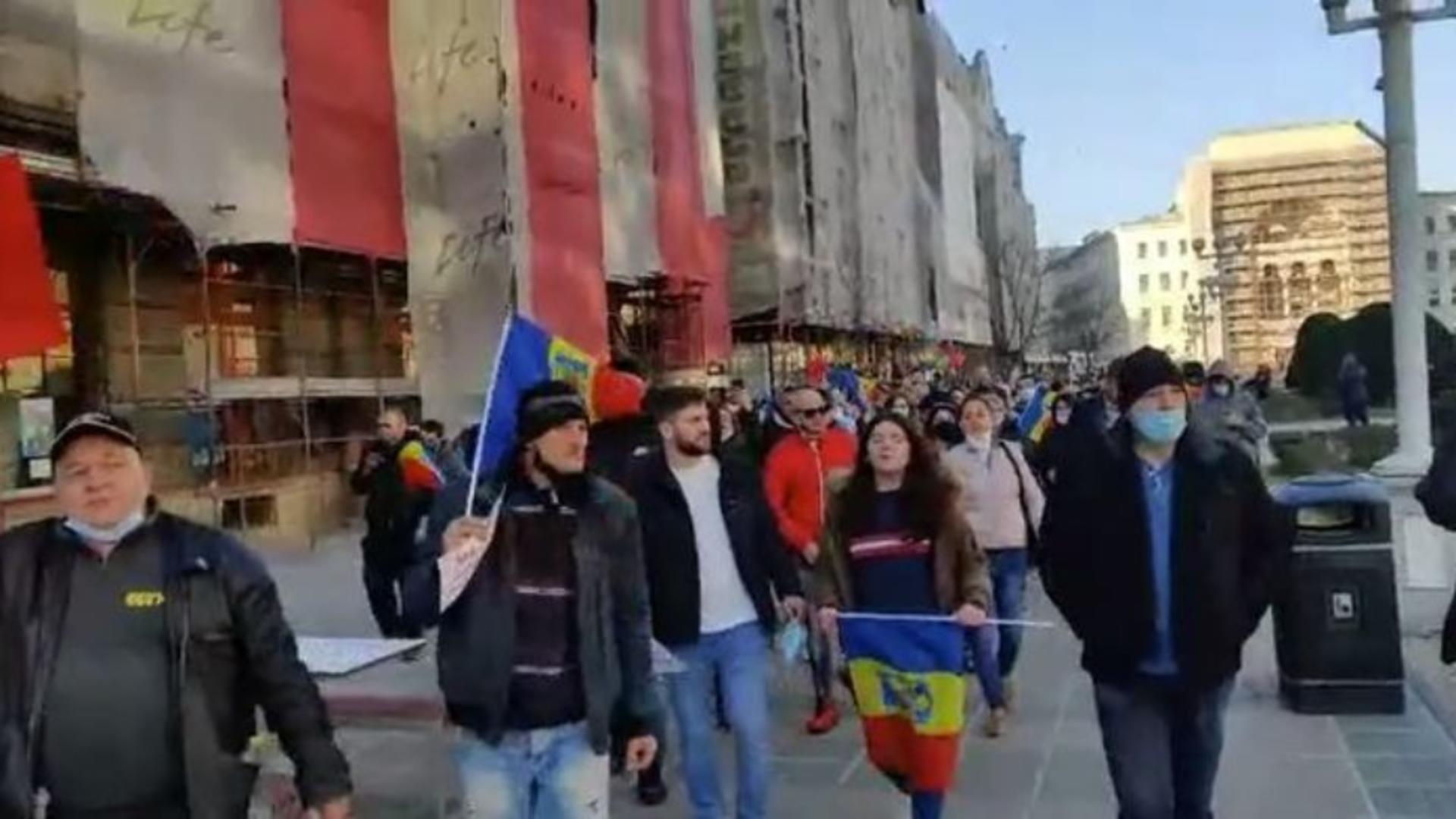 Protest la Timișoara