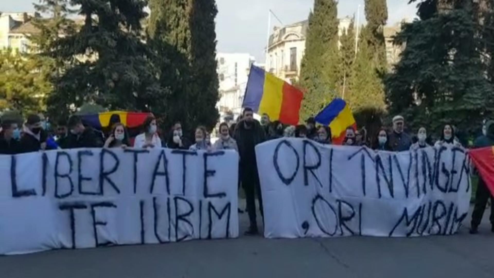 Proteste la Constanta