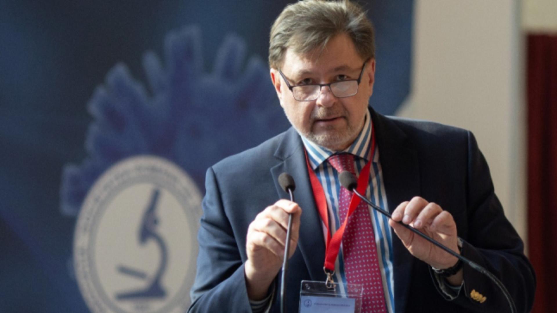 Alexandru Rafila, reprezentant al ROMâniei la OMS, deputat PSD Foto: InquamPhotos/Ilona Andrei