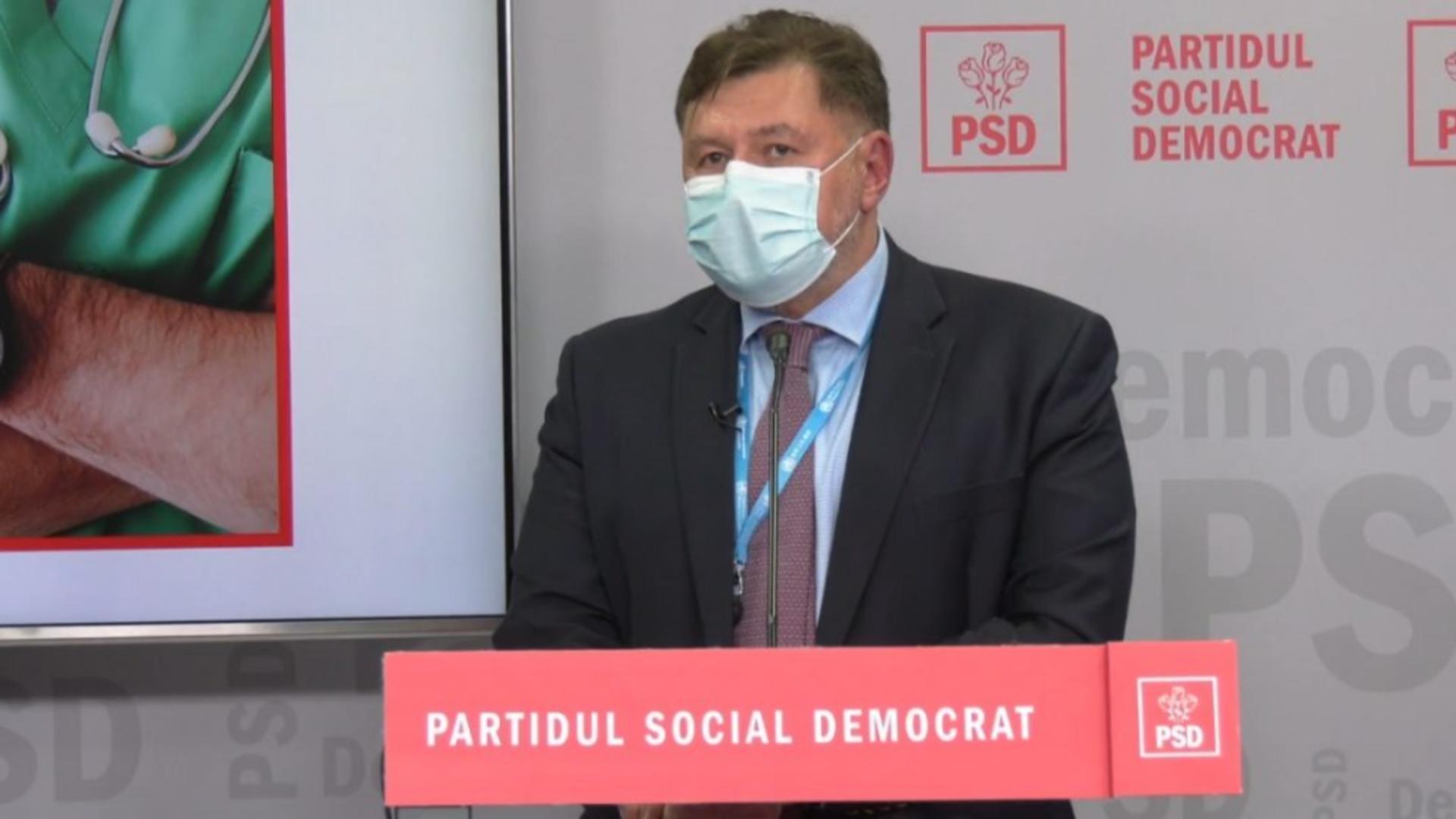 Alexandru Rafila, medic și deputat PSD