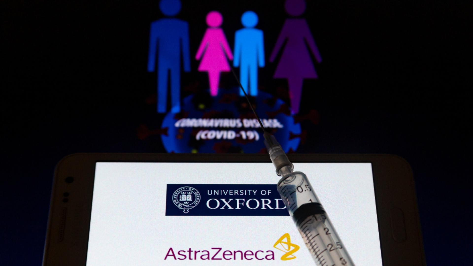 Vaccin AstraZeneca împotriva COVID-19 Foto: ProfiMedia