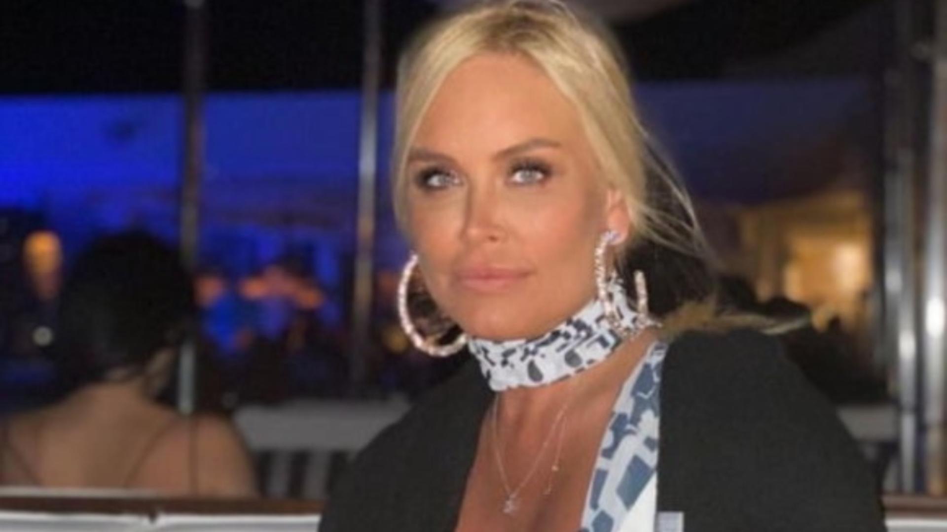Vica Blochina a fost victima unui accident rutier