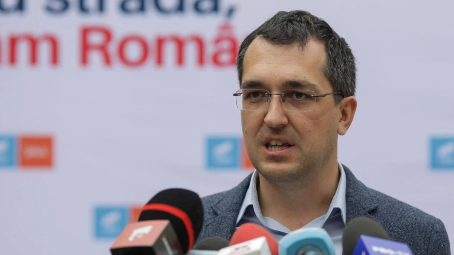 Ministrul Sănătății - Vlad Voiculescu