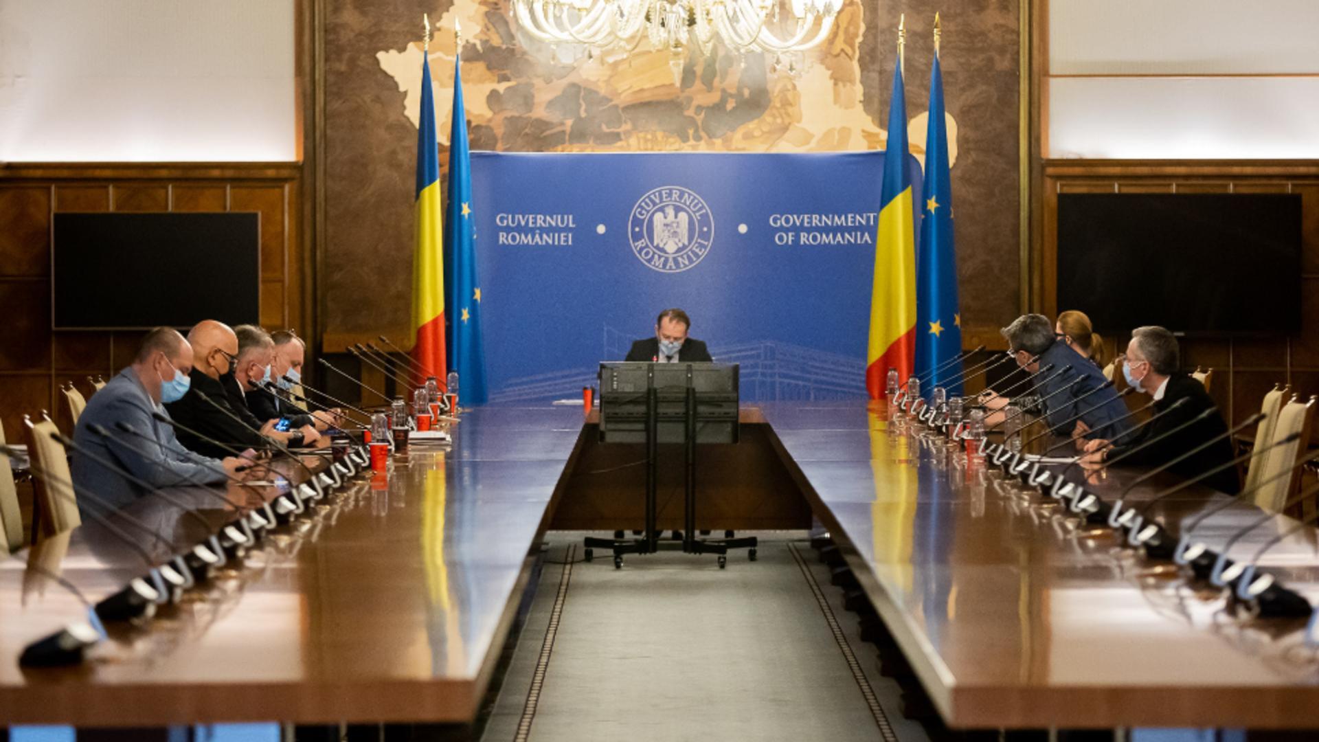Ședință de Guvern / Foto: Facebook