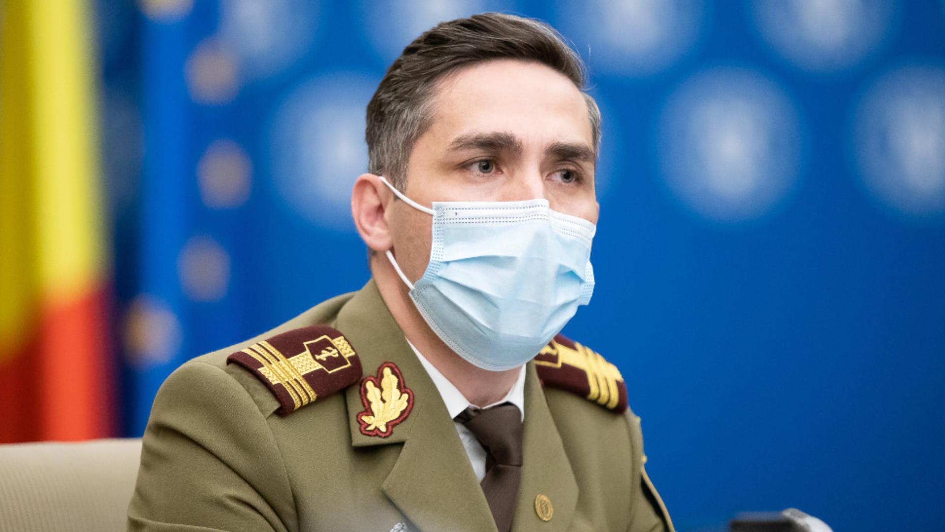 Valeriu Gheorghiță, coodonatorul campaniei naţionale de vaccinare antiCovid / Foto: Facebook Guvernul României