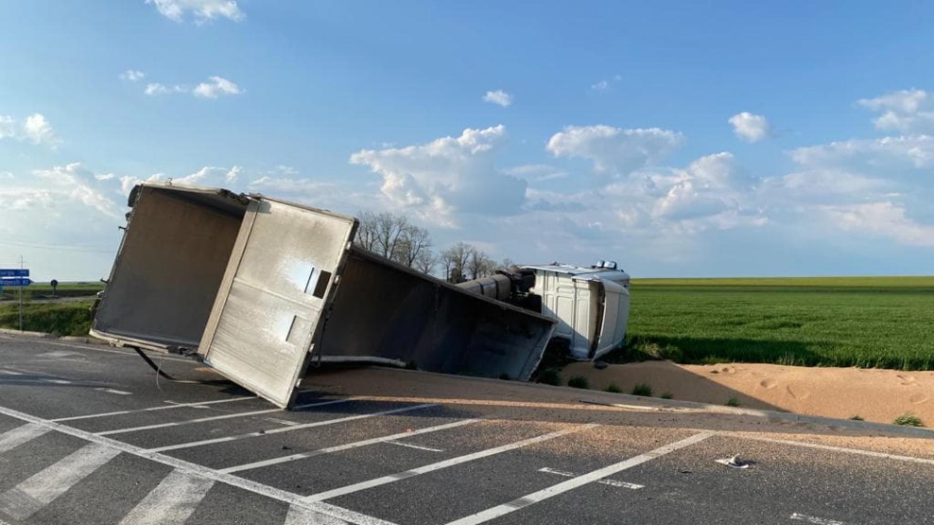 Accident Alexandria/sursa foto: ISU Teleorman