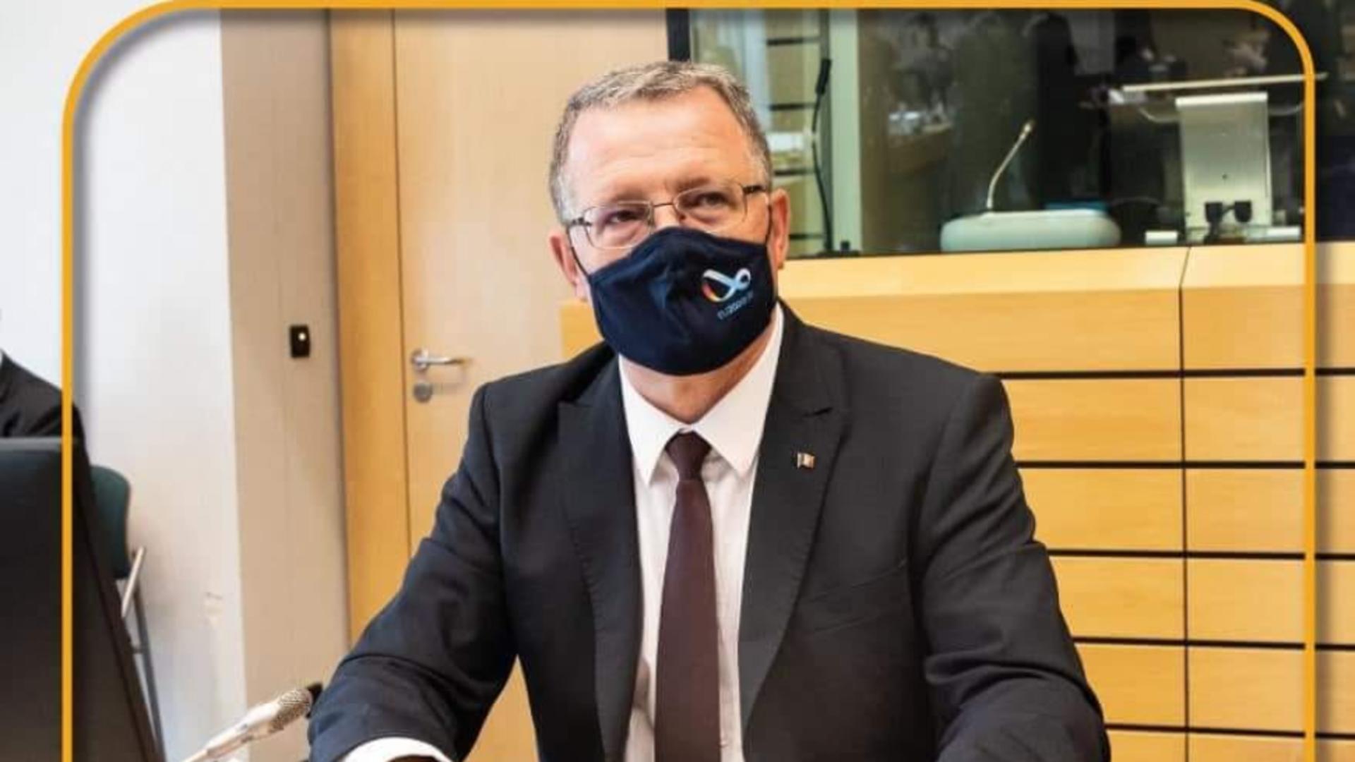 Adrian Oros, ministrul agriculturii / Foto: Facebook
