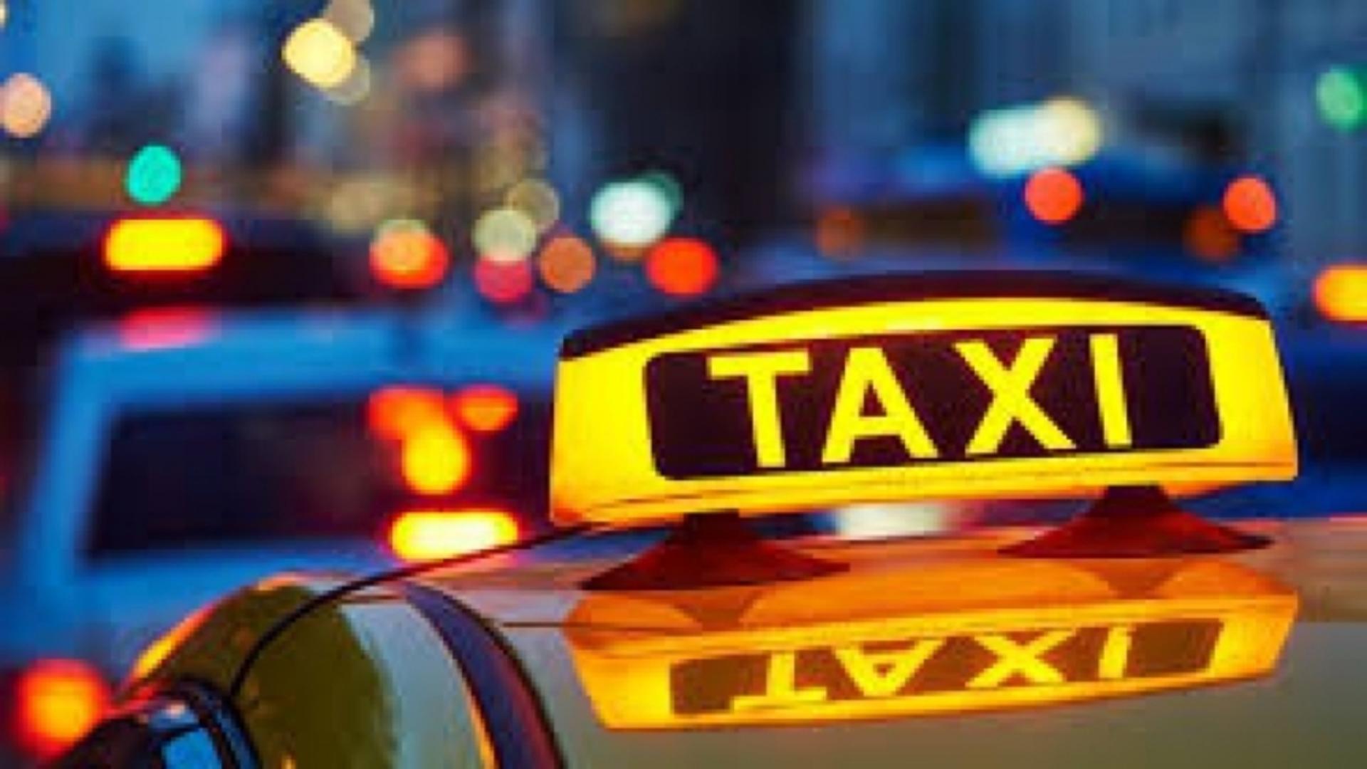 Taximetrist fals, oprit în trafic