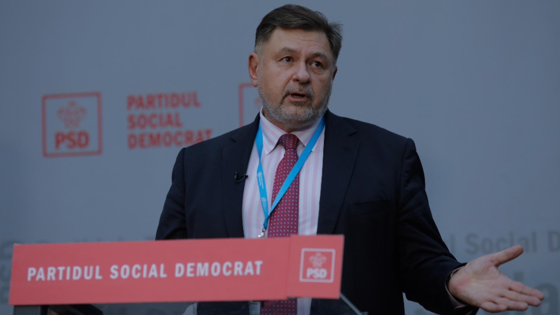Alexandru Rafila, parlamentar PSD / Foto: Inquam Photos / George Calin