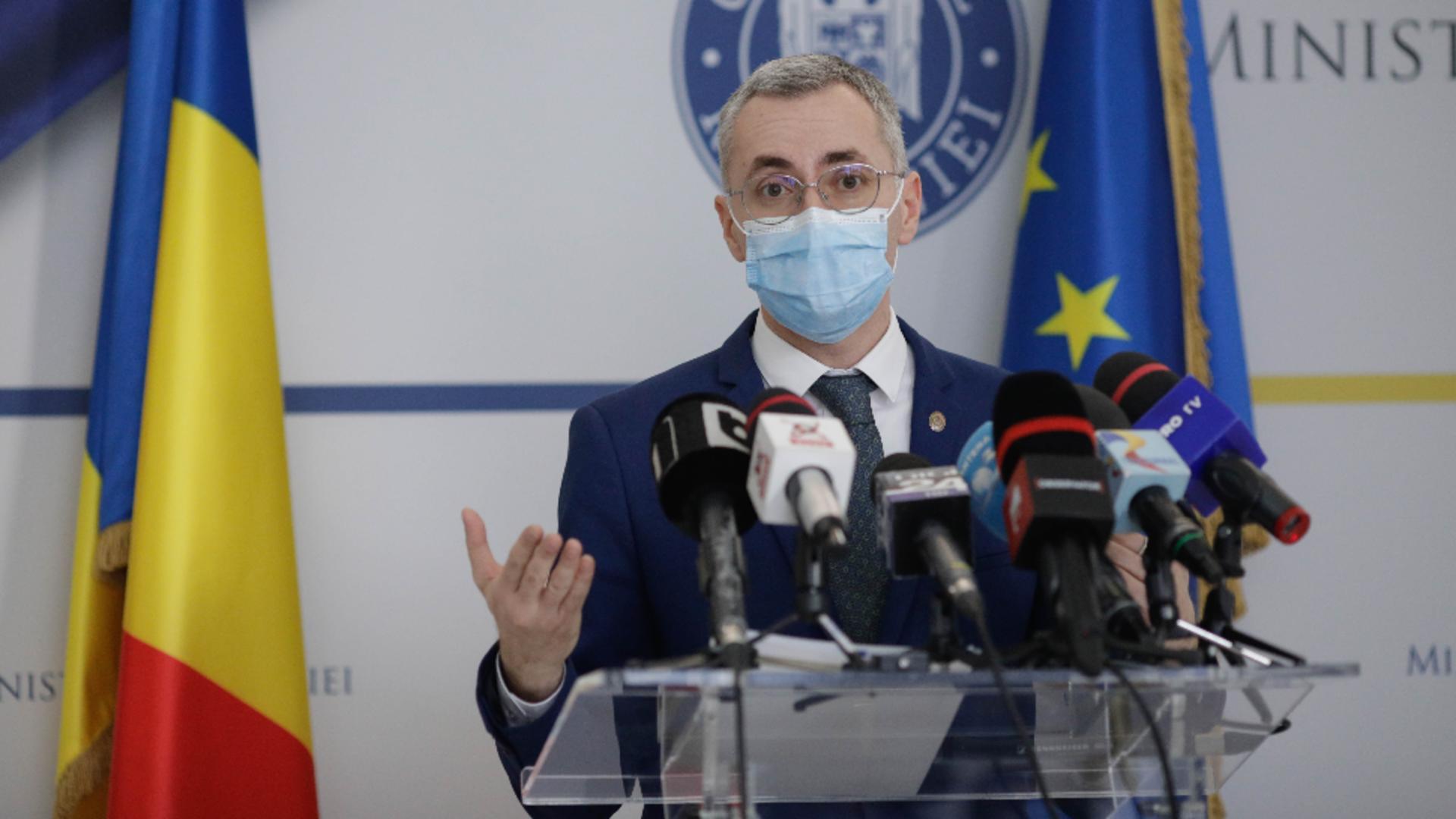 Stelian Ion, ministrul Justiției /  Foto: Inquam Photos / George Calin