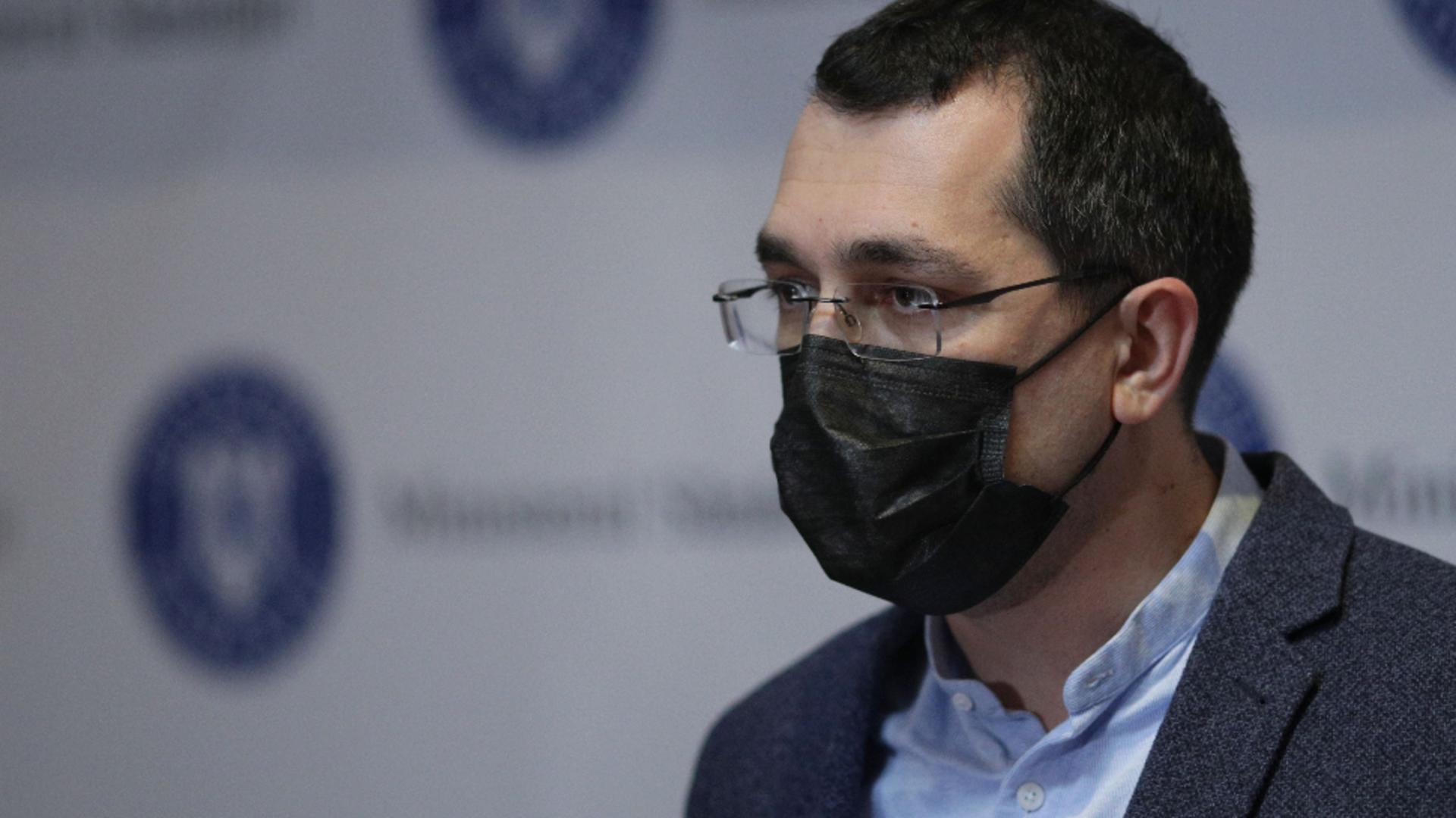 Vlad Voiculescu, ministrul Sănătății / Foto: Inquam Photos / Octav Ganea