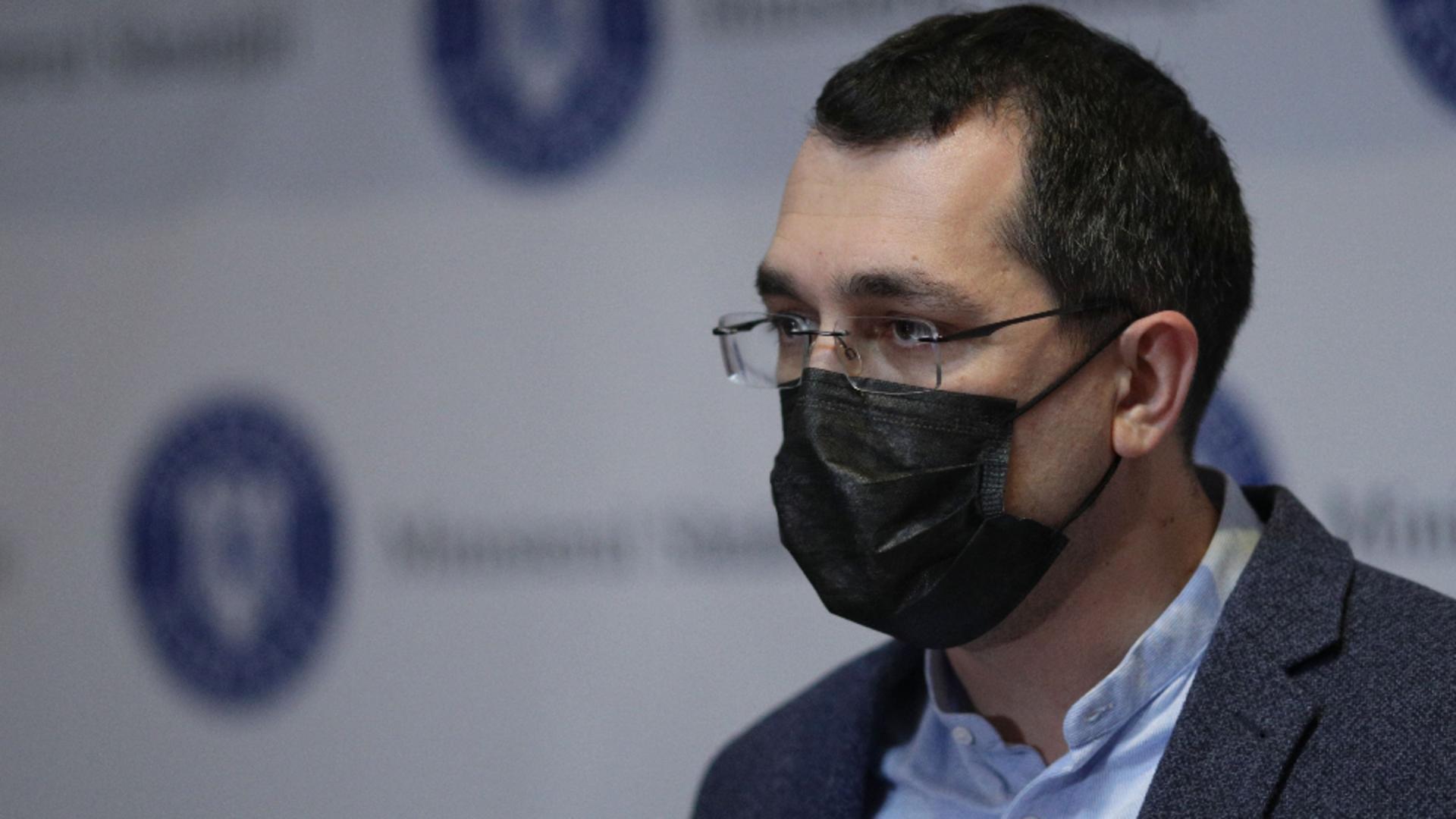 Vlad Voiculescu, fost ministru al Sănătății / Foto: Inquam Photos / Octav Ganea