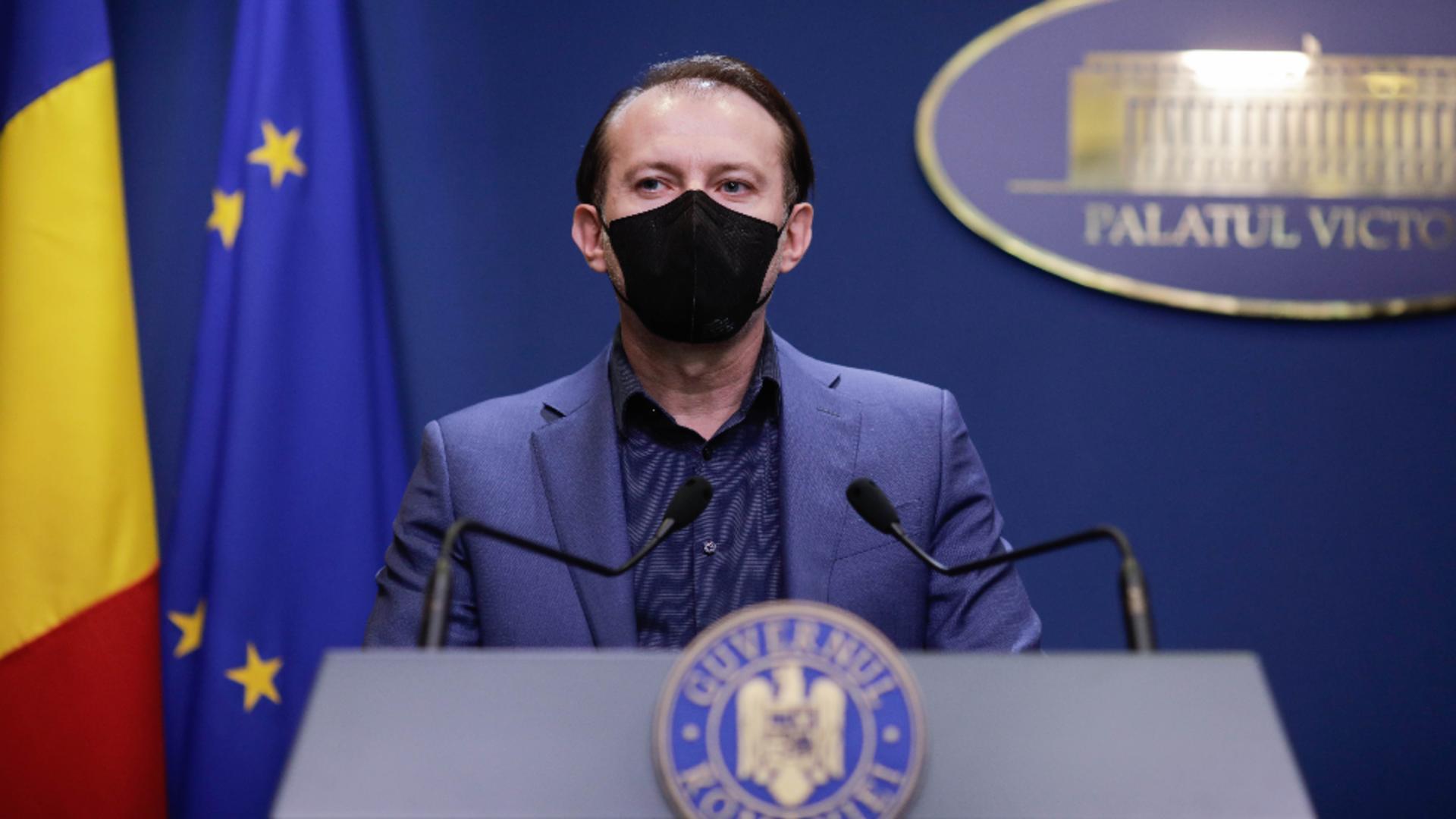 """Premierul Florin Cîțu, anunț despre incidentul tragic de la Spitalul """"Victor Babeș"""" Foto: InquamPhotos/George Călin"""