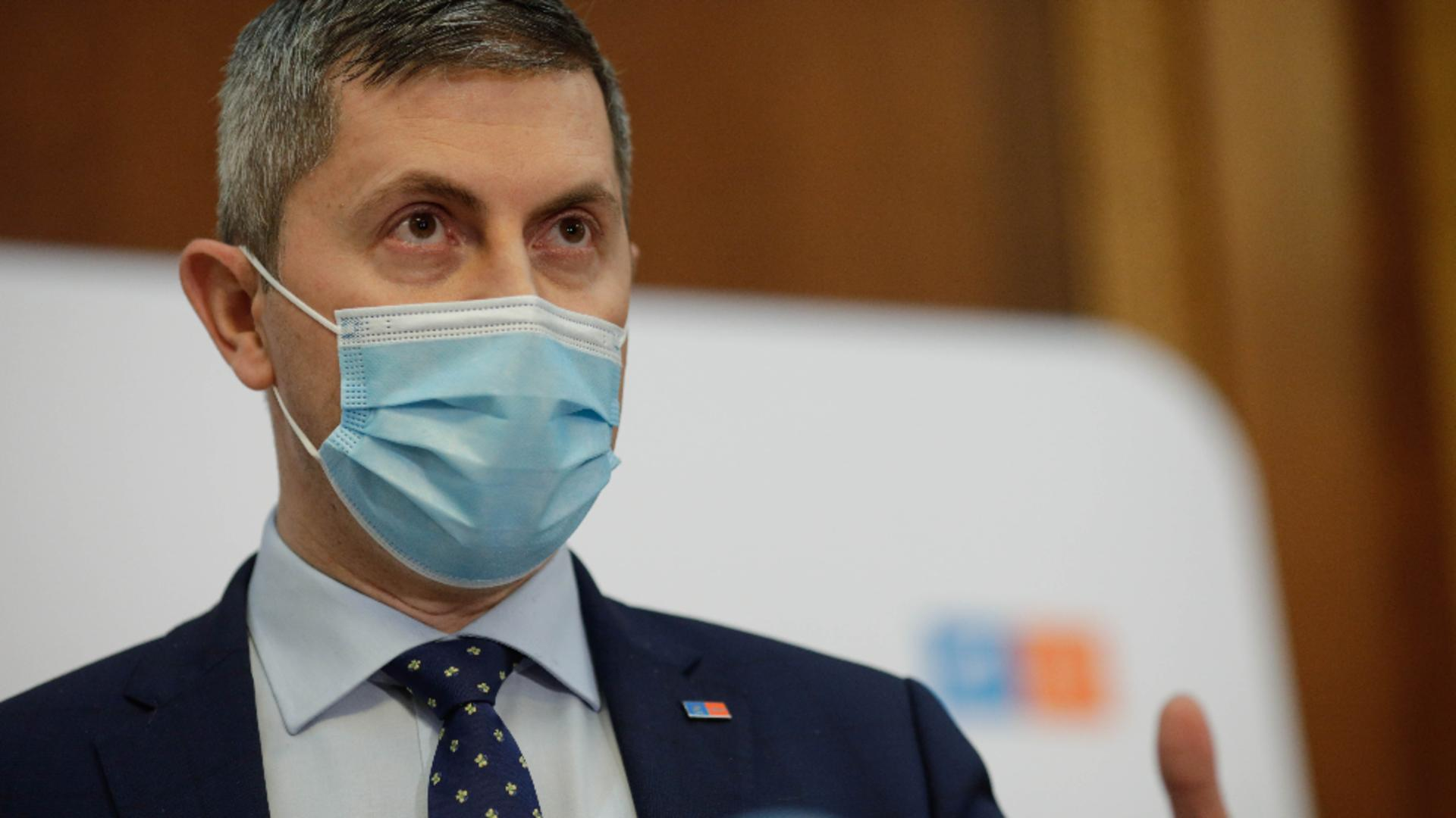 Dan Barna, acuzații la adresa lui Florin Cîțu Foto: InquamPhotos/George Călin