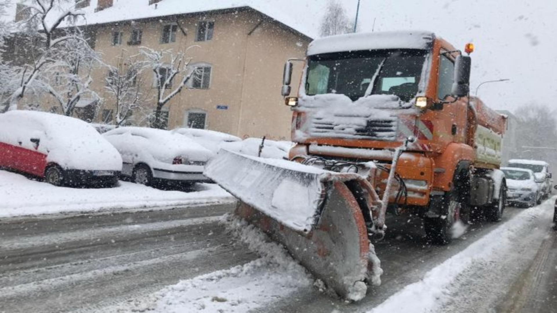 Ninsori abundente județul Brașov