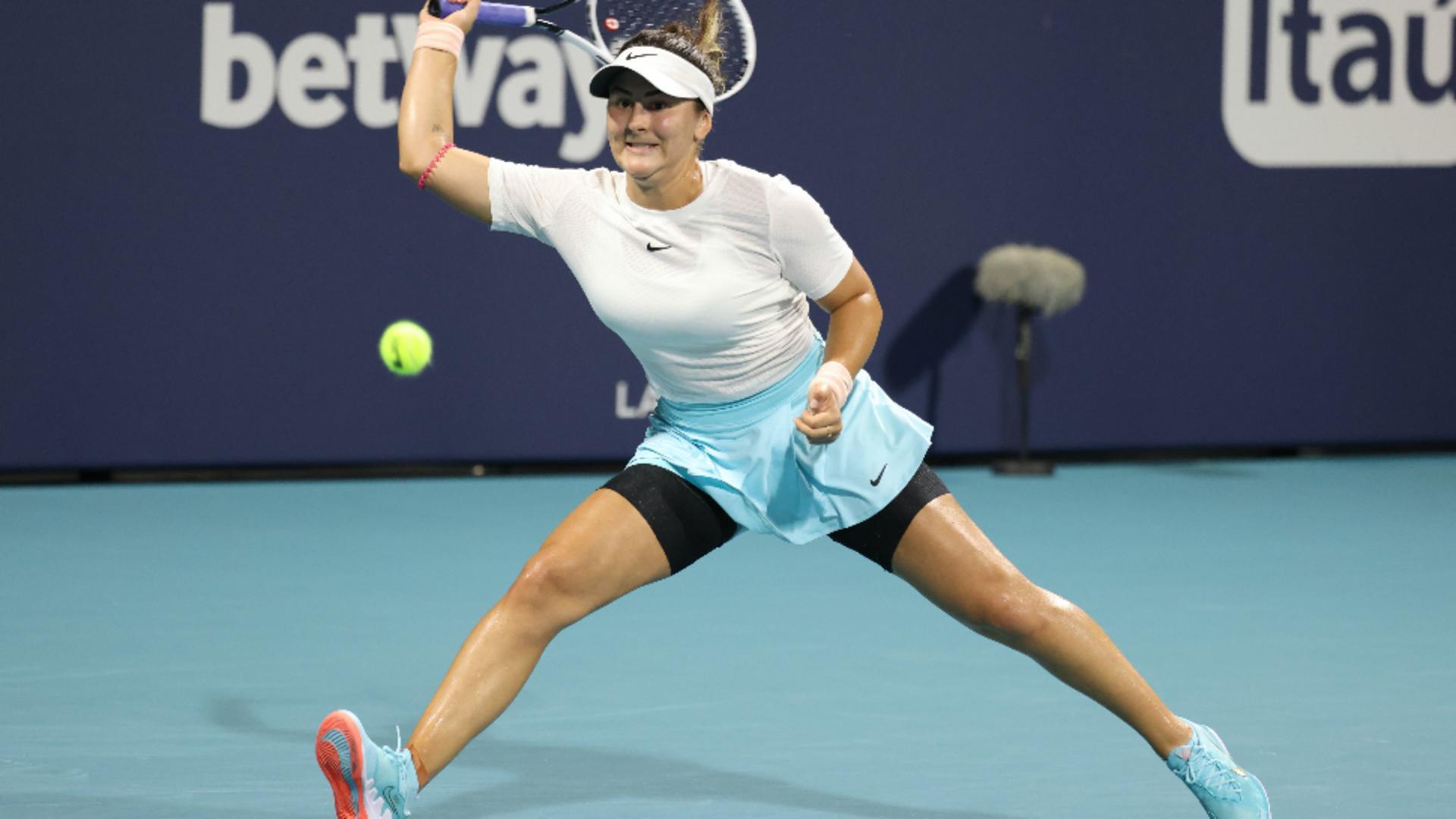 Bianca Andreescu - sursa foto Twitter/TennisUptoDate