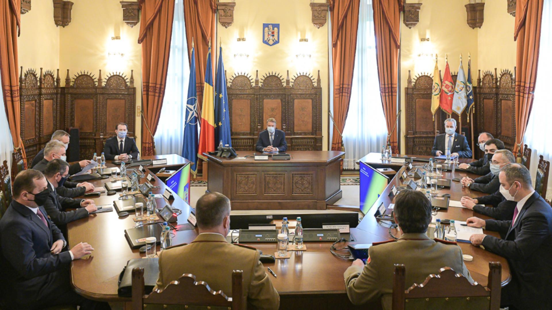 CSAT a decis ce va face în relația cu Rusia după expulzarea unui oficial rus din România Foto: Presidency.ro