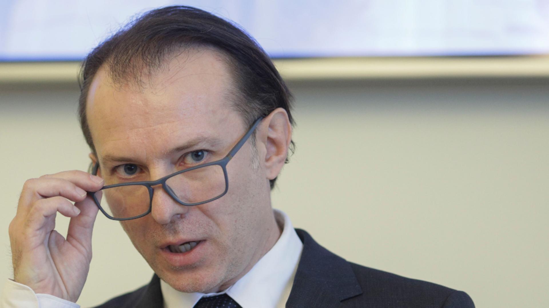 Florin Cîțu, atac la PSD după amenințările legate de PNRR Foto: INQUAM/Octav Ganea
