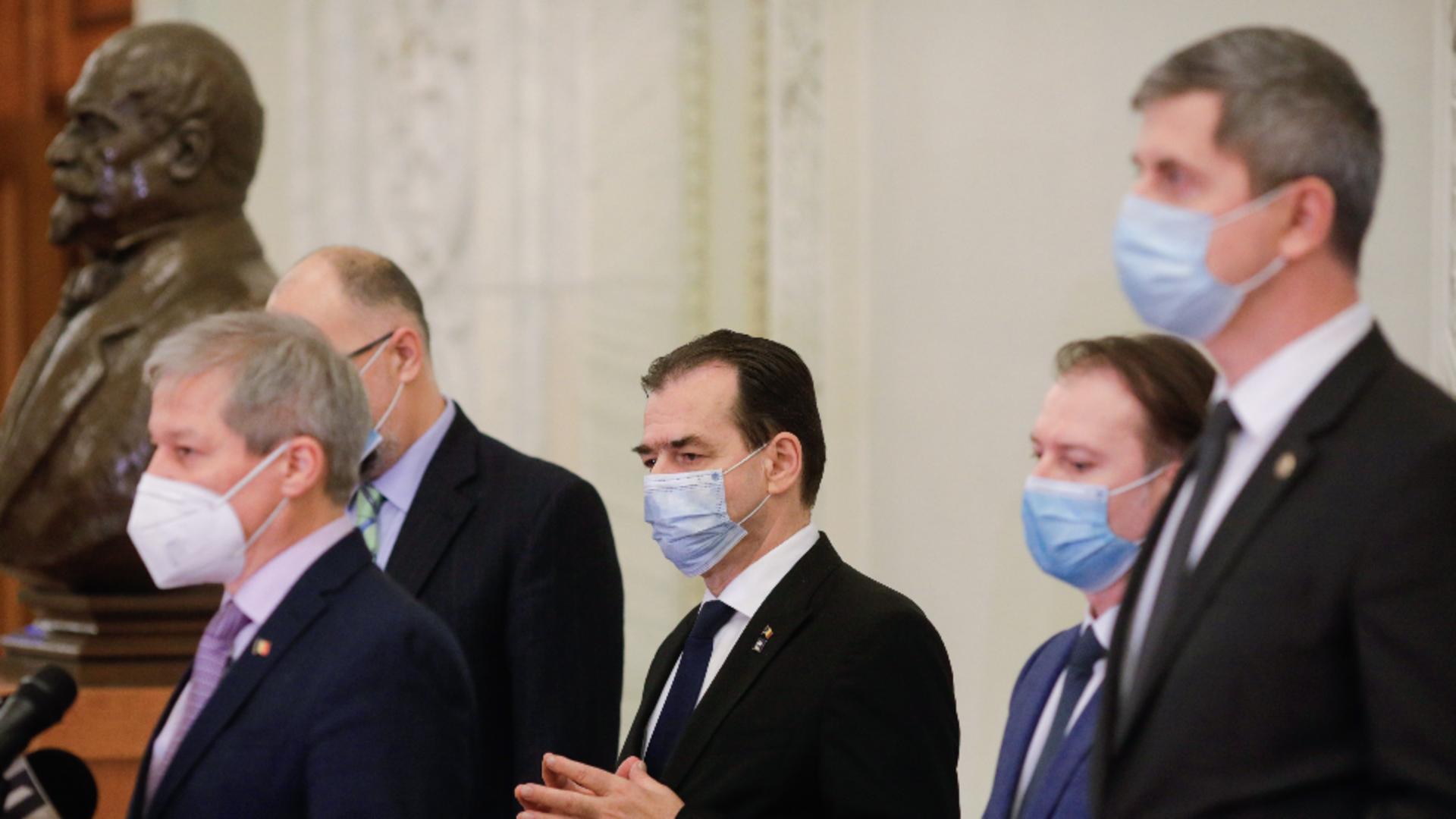 Coaliția de guvernare / Foto: Inquam Photos